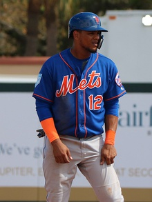 Juan Lagares runs the bases, March 3, 2019 (2) (cropped).jpg
