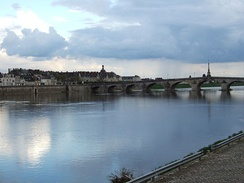 The Loire as it flows through Blois.