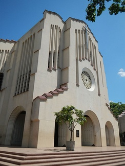 Authorised by the Holy See to remain open 24/7 days all year, the National Shrine of Our Mother of Perpetual Help (also known as Baclaran Church), is one of the largest Marian shrines in the Philippines.