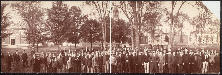 Student body, Phillips Exeter Academy, ca. 1903