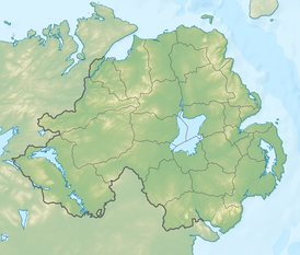 Williamite War in Ireland is located in Northern Ireland