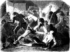 September Massacres of 1792, in which Parisian mobs killed hundreds of royalist prisoners.