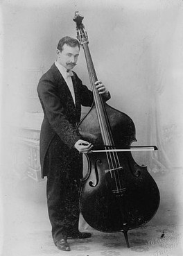 Serge Koussevitzky popularized the double bass in modern times as a solo instrument.