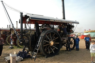 A Showman's Engine at the Great Dorset Steam Fair