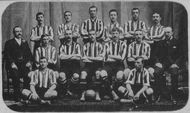 Southampton, the first British club to arrive, in 1904
