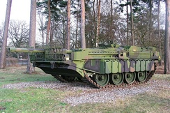The Swedish Strv 103 was used until the 1990s.