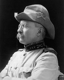 U.S. President Theodore Roosevelt, a noted anti-lynching politician