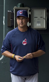 Two-time World Series winner Terry Francona, who became Indians manager on October 6, 2012In his tenure with the Tribe, he is a two-time AL Manager of the Year (2013, 2016) and led the team to the 2016 AL Championship.