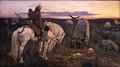 Victor Vasnetsov, Knight at the Crossroads (1882)