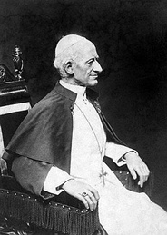Photograph of Leo XIII in his later years.