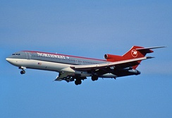 Northwest Airlines retired its last 727 from charter service in June 2003