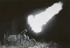Shooting with anti-aircraft gun in Sweden 1934