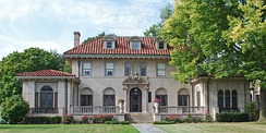 Berry Gordy House, known as Motown Mansion in Detroit's Boston-Edison Historic District[11]