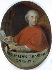 Pius VI elevated Romualdo Braschi-Onesti as the penultimate cardinal-nephew.