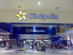 Cinépolis is the biggest cineplex chain in Mexico. It is also the largest chain in Latin America and the fourth largest in the world