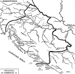 Kingdom of Croatia during the rule of Peter Krešimir IV