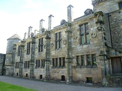 Falkland Palace, 'South Quarter' from the Courtyard