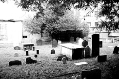 First Cemetery of the Spanish and Portuguese Synagogue, Shearith Israel (1656-1833) in Manhattan, New York City