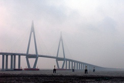 Hangzhou Bay Bridge: northern cable-stayed span