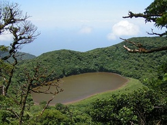 Maderas crater lake (Ometepe Island), Nicaragua