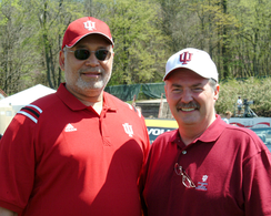 Herbert with Congressman Mike Sodrel in 2005