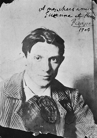 Picasso in 1904. Photograph by Ricard Canals.
