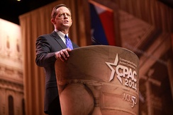 Toomey speaking at CPAC in March 2014.