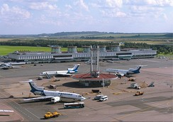 Pulkovo Airport, near Saint Petersburg, Russia
