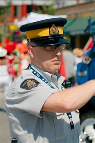 RCMP in everyday uniform