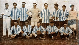 The 1913 team that won four titles in a year, including its first Primera División championship
