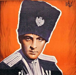 The Eagle of 1925 starring Rudolph Valentino