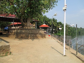 River bank where austerities are performed for forefathers
