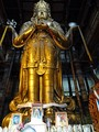 Mongolian statue of Avalokiteśvara (Migjid Janraisig). Tallest indoor statue in the world, 26.5-meter-high, 1996 rebuilt, (1913)