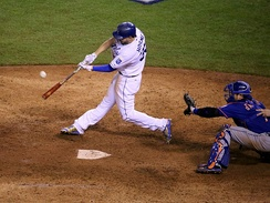 Hosmer's walk-off sac fly in Game 1 of the 2015 World Series