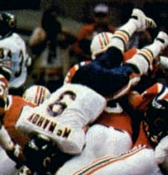 Jim McMahon, who won the Bears' first Super Bowl in 1985 (1982–1988)