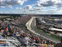 NASCAR racing at Dover International Speedway