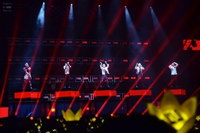 Big Bang performing in Dalian, China