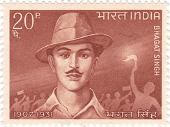 Singh on a 1968 stamp of India