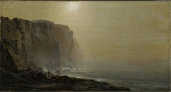 Misty Morning, Coast of MaineArthur Parton (1842–1914). Between 1865 and 1870, Brooklyn Museum