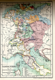 Central Europe from the Peace of Lunéville to the Decree of the Imperial Diet