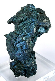 Steely-blue chalcocite from the Flambeau Mine