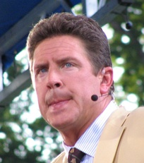 Alumnus Dan Marino is a Hall of Fame quarterback and broadcaster.