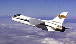 NASA's F-8C digital fly-by-wire testbed