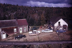 Farm in Abitibi-Témiscamingue in 1962
