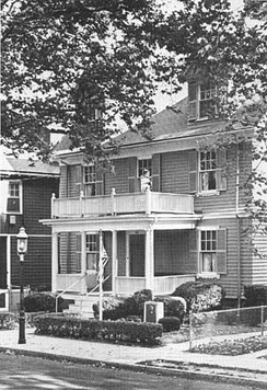 The house in 1974.