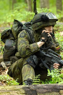 Soldier of the Lithuanian National Defence Volunteer Forces
