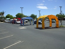 Child Safety Seat Inspection site by the Maui Police Department