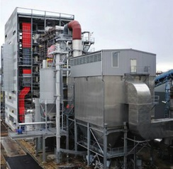 Metz biomass power station