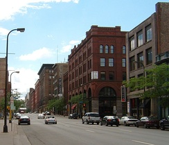 "Gentrification in the US: The North Loop neighborhood, Minneapolis, Minn., is the ""Warehouse District"" of condominia for artists and entrepreneurs.[29]"