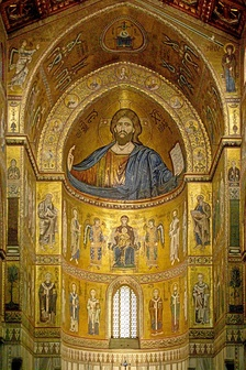 Христос Вседержитель в апсиде собора